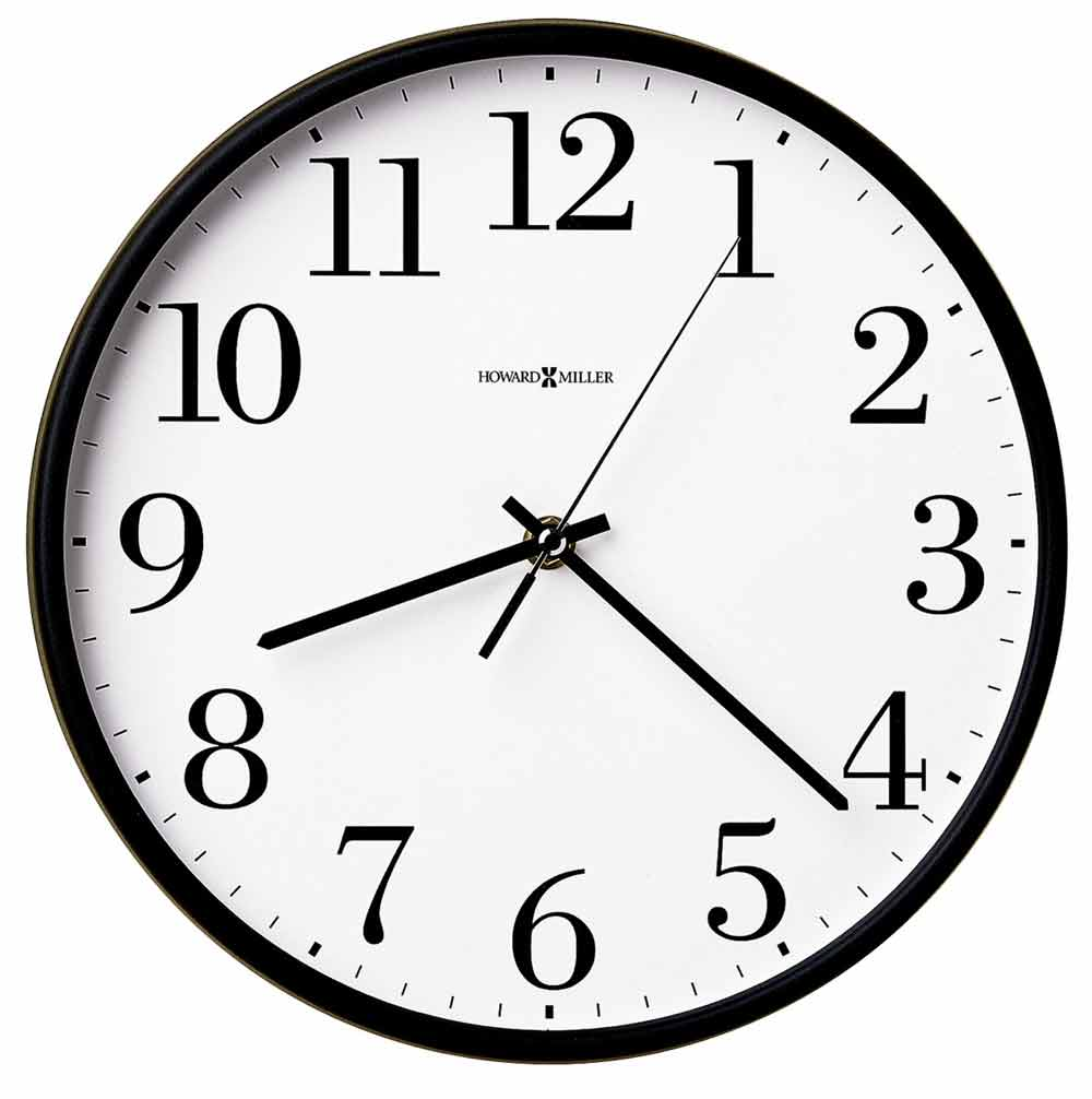 howard miller office mate wall clock - Howard Miller Wall Clocks