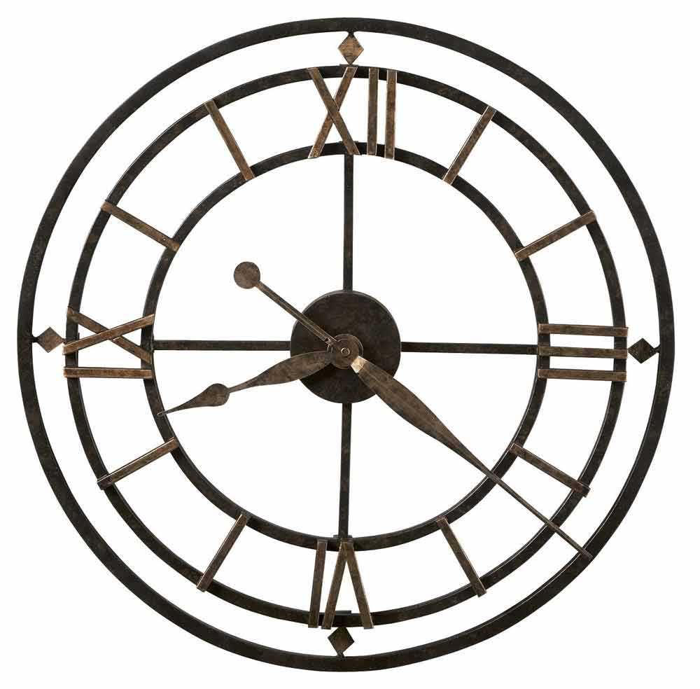 Howard Miller 625 299 York Station Large Wall Clock The