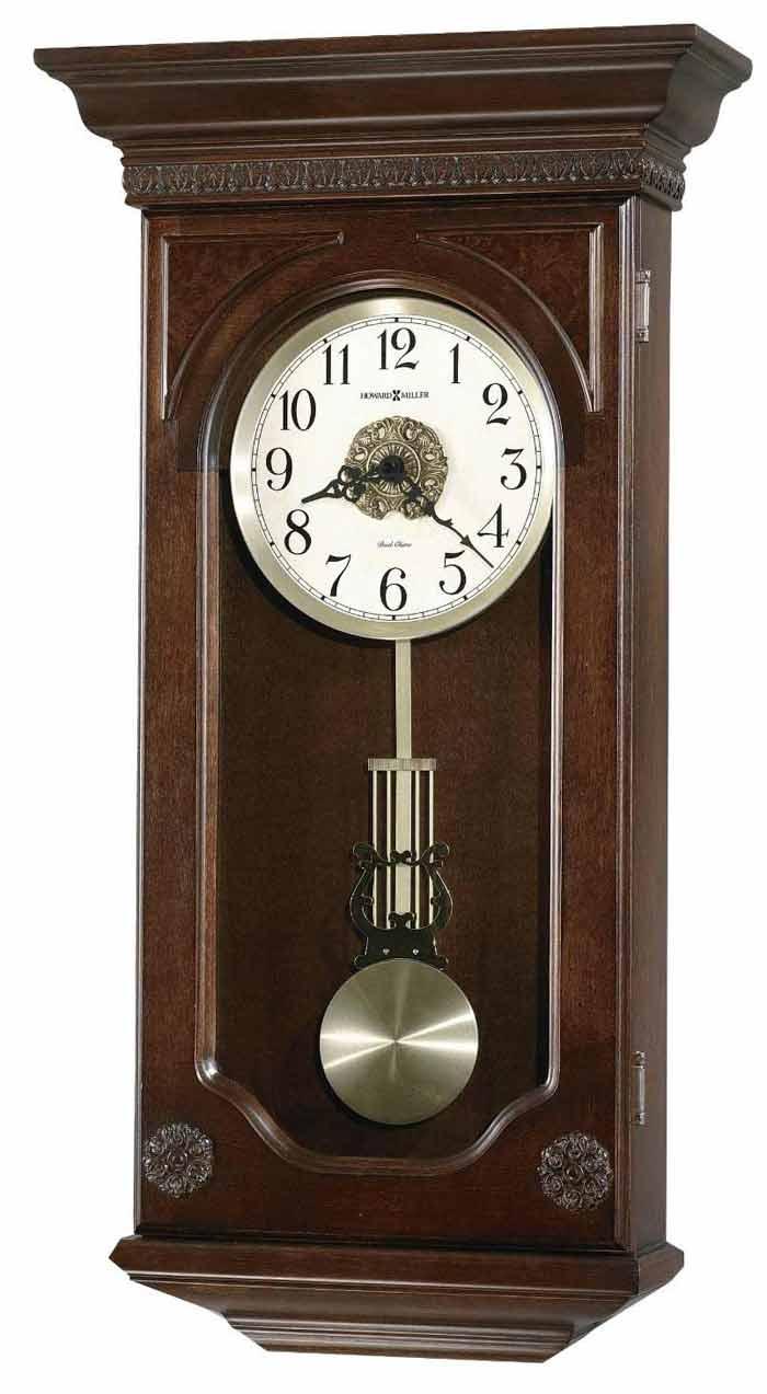 Quartz wooden chiming wall clocks the clock depot howard miller jasmine 625 384 chiming wall clock amipublicfo Images