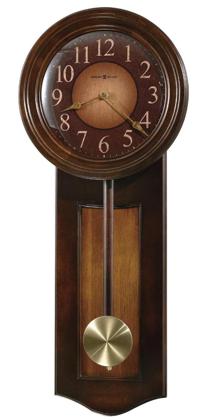 Antique style reproduction wall clocks moment in time wall clocks howard miller avery 625 385 wall clock amipublicfo Choice Image
