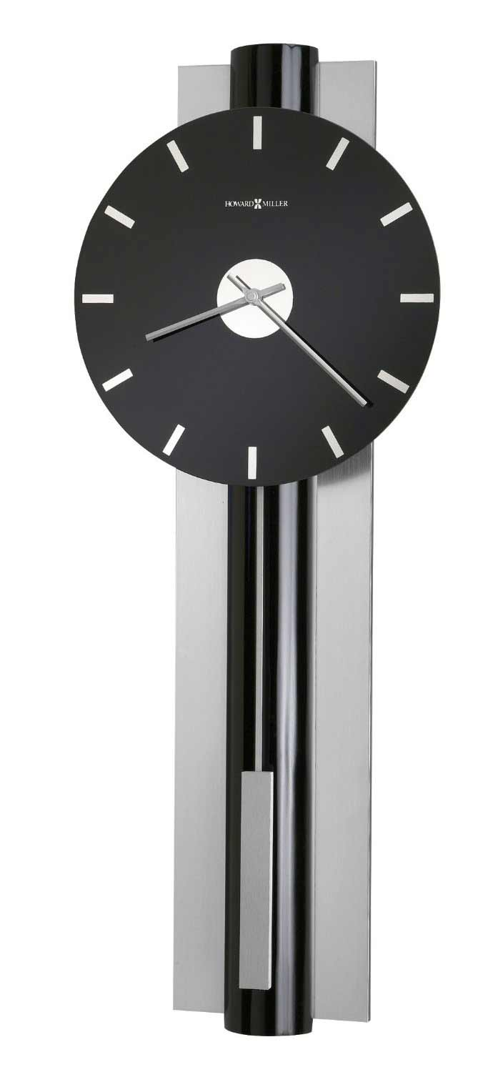 contemporary wall clocks and modern wall clocks  the clock depot - howard miller hudson  modern wall clock