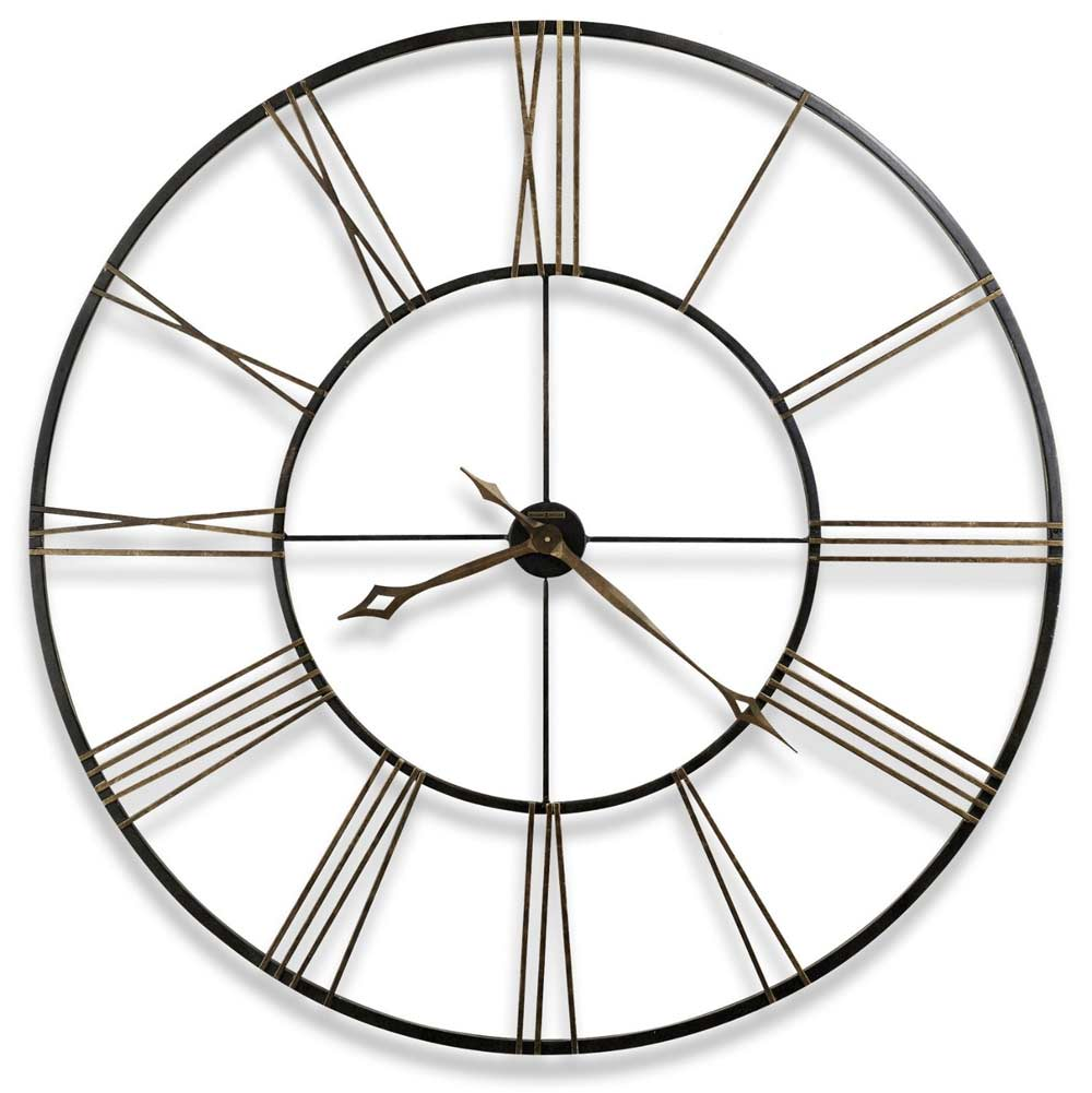 Howard miller prospect park 625 570 60 wall clock the clock depot howard miller postema 625 406 49 inch large wall clock amipublicfo Gallery