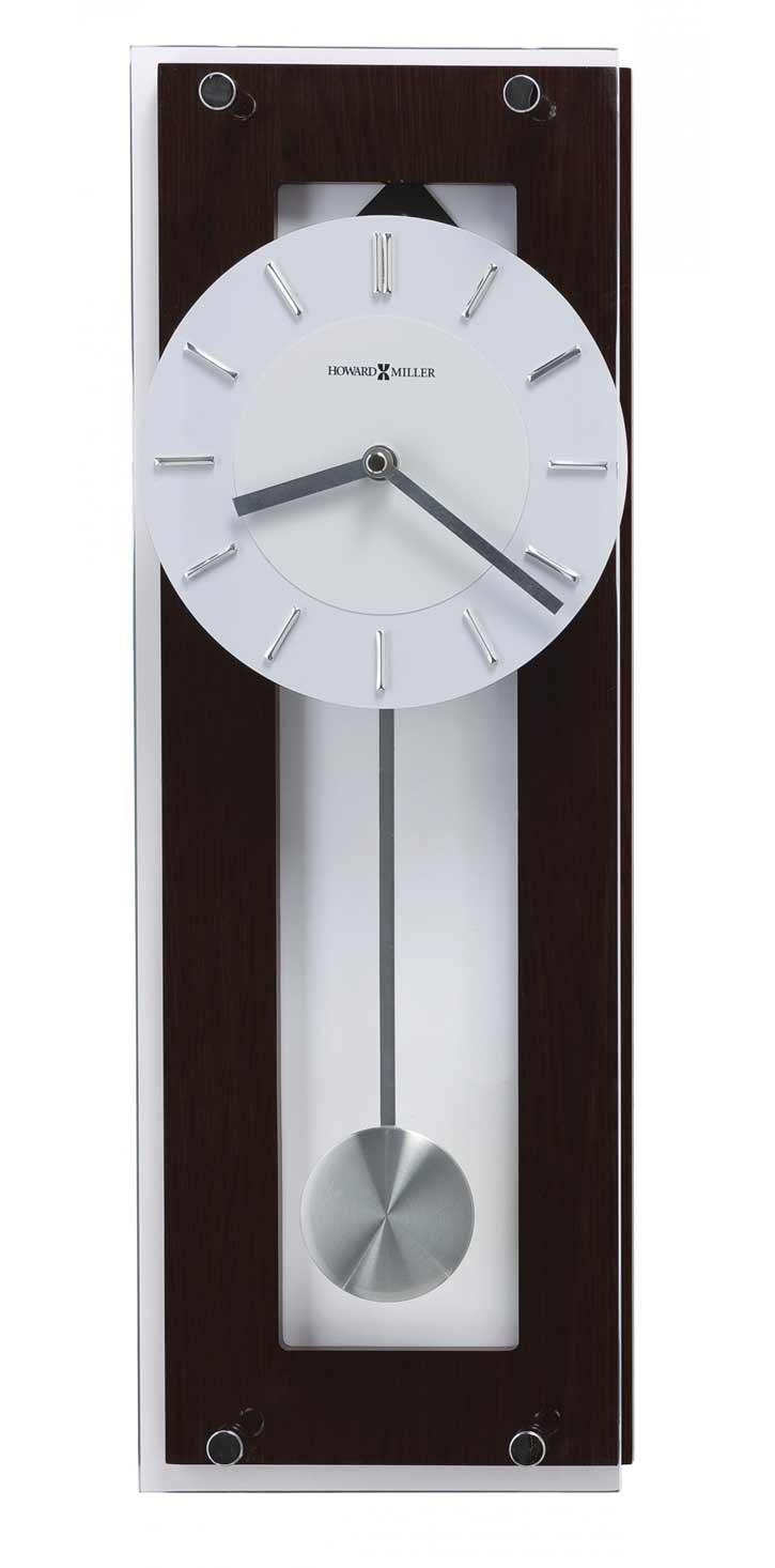 contemporary wall clocks and modern wall clocks  the clock depot - howard miller emmett  contemporary wall clock