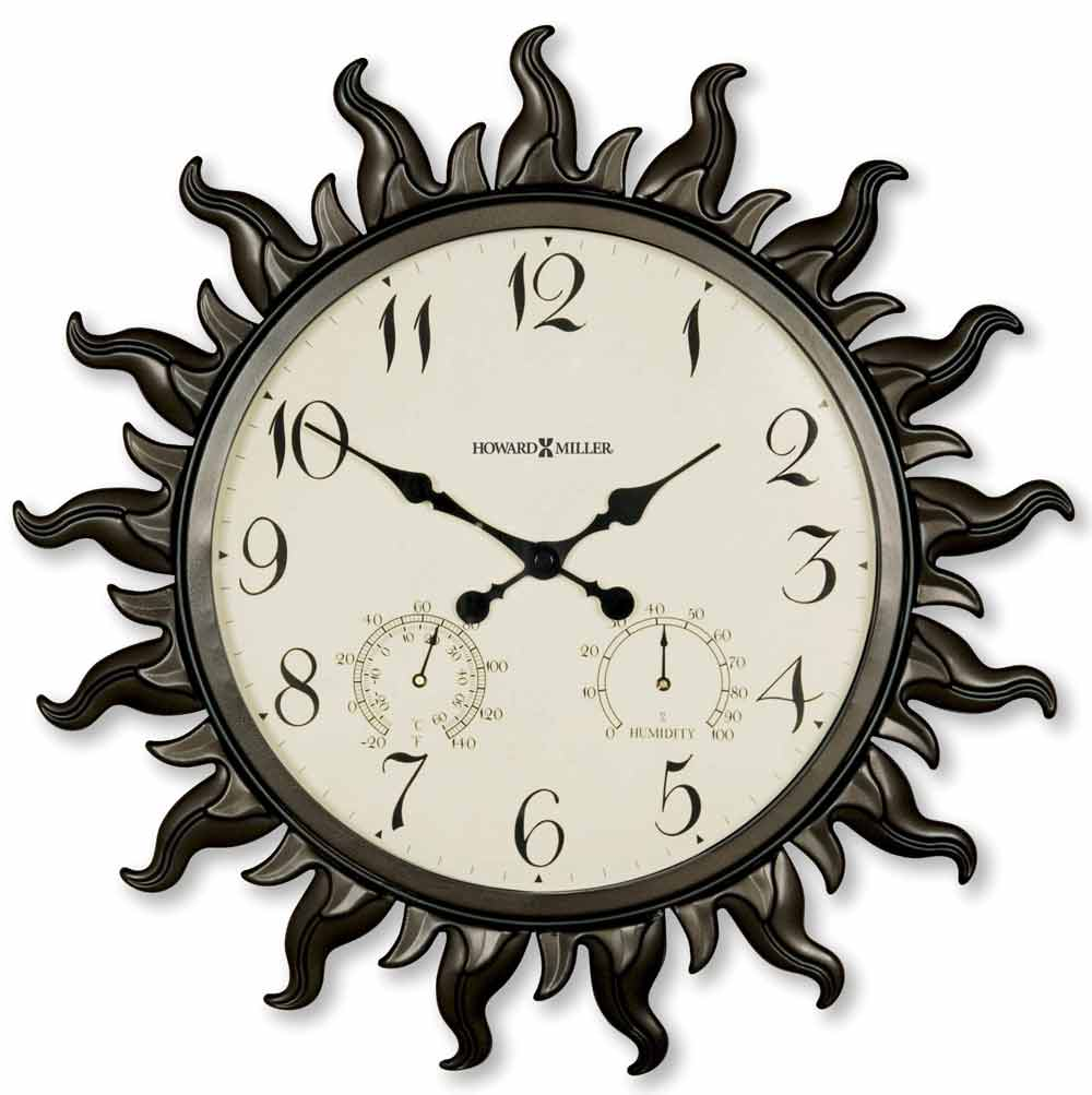 Howard Miller Sunburst Ii 625 543 Wall Clock