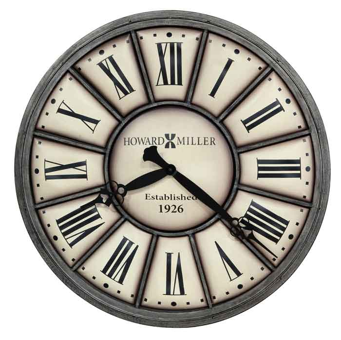 howard miller company time ii large wall clock