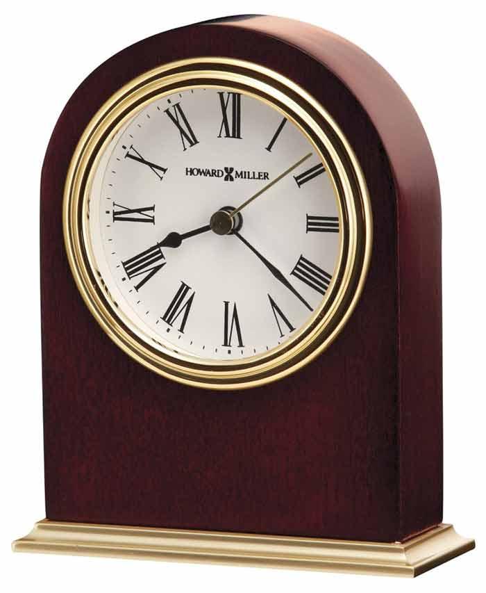 Howard Miller 645 401 Craven Cherry Desk Clock The Clock