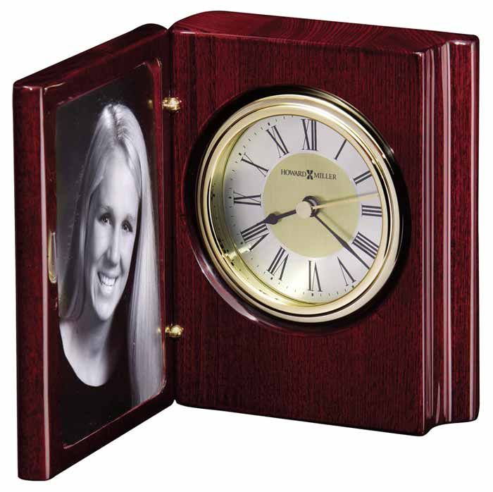 Howard Miller 645 497 Portrait Book Desk Clock The Clock Depot