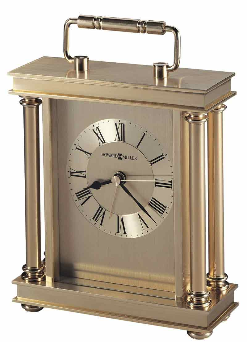 Howard Miller Audra 645 584 Brass Desk Clock