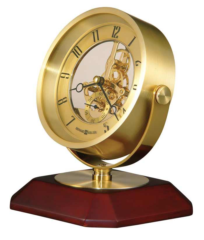 ... Detailed Image Of The Howard Miller Soloman 645 674 Skeleton Table Clock