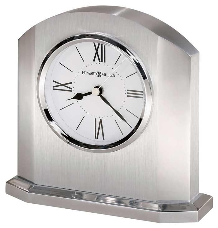 Howard Miller Lincoln 645 753 Solid Aluminum Desk Clock