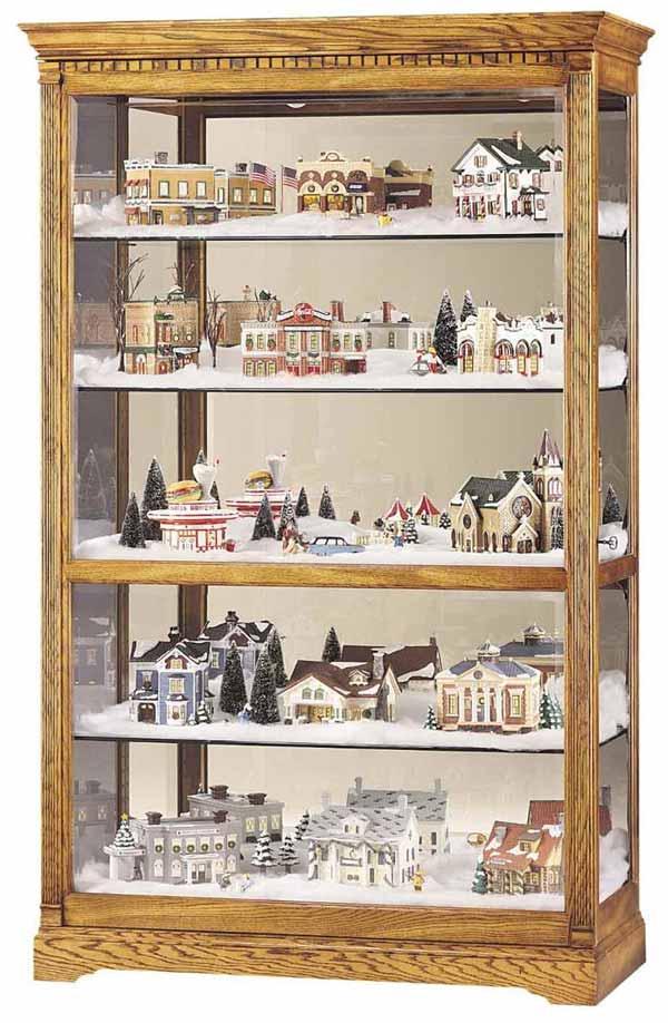 howard miller parkview village curio cabinet