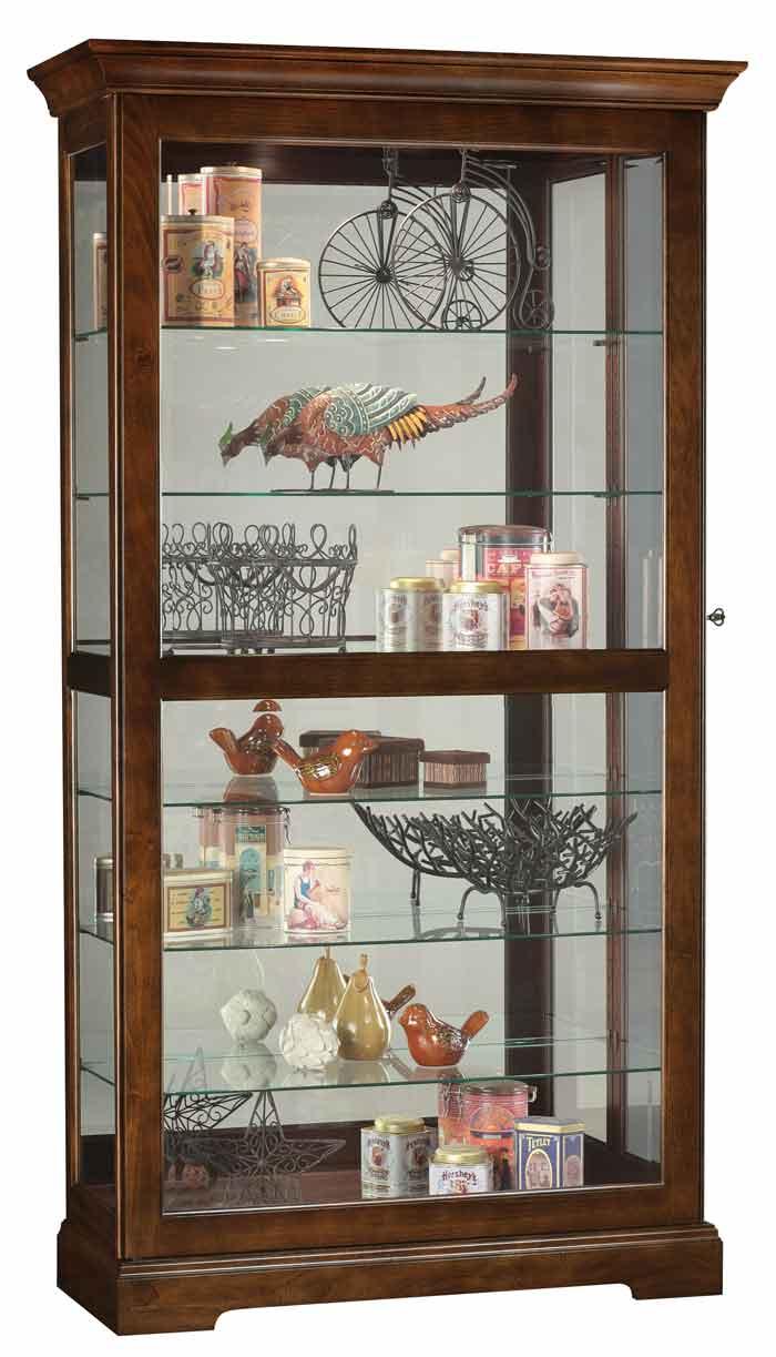 howard miller curio cabinet Howard Miller Tyler 680 537 Curio Cabi  The Clock Depot howard miller curio cabinet