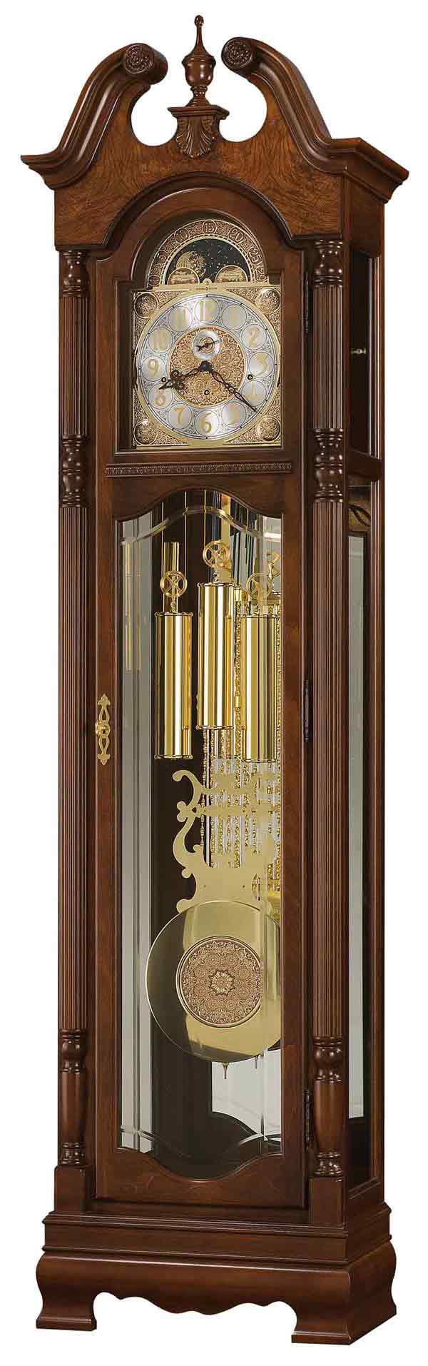 Grandfather clocks grandfather clocks from floor clock expert page howard miller baldwin 611 200 grandfather clock amipublicfo Image collections