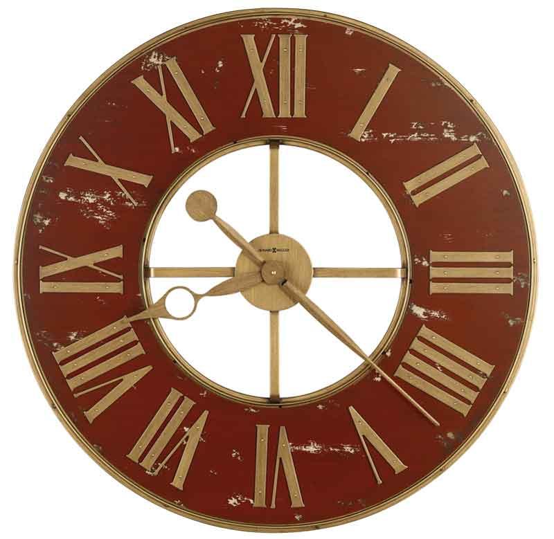 Howard Miller Boris 625 649 Large Wall Clock The Clock Depot