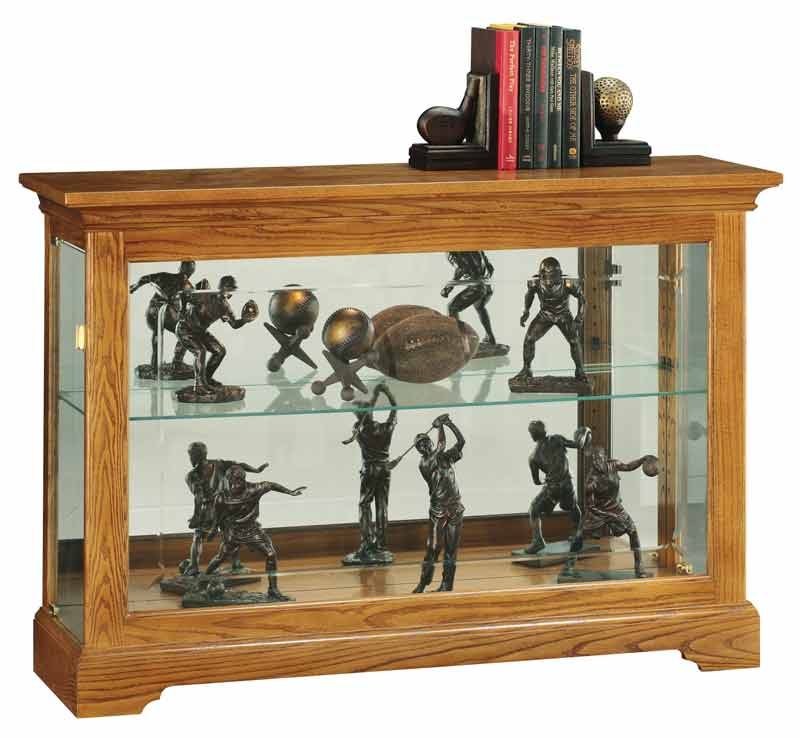 Burrows Curio Cabinet Front View
