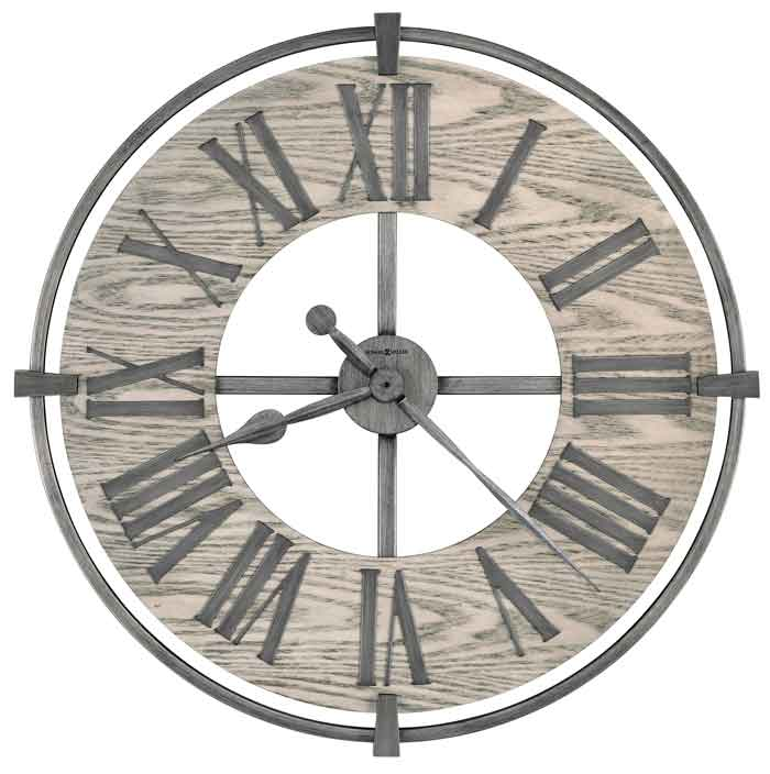 Howard Miller Eli 625 646 Large Wall Clock The Clock Depot