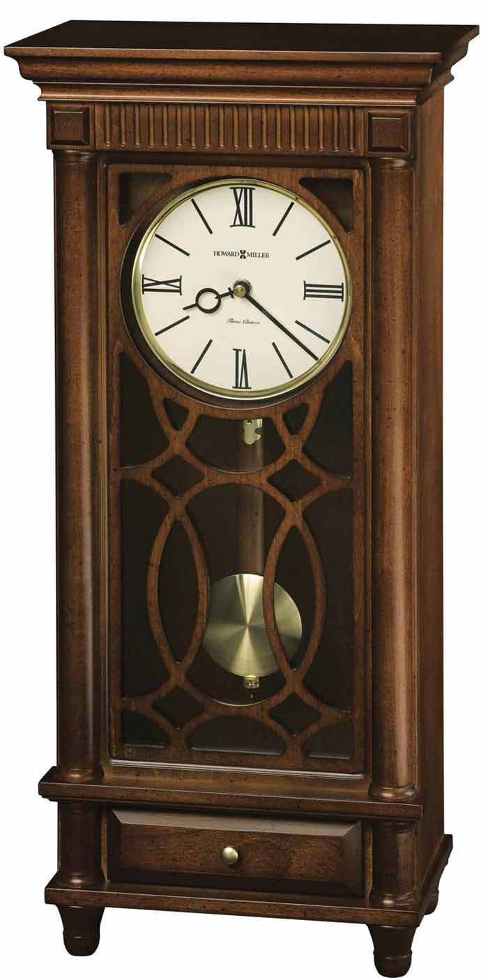Detailed Image Of The Howard Miller Lorna 635 170 Chiming Mantle Clock