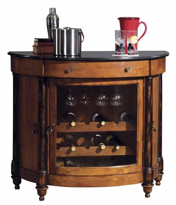Howard Miller 695 016 Merlot Valley Wine Cabinet The