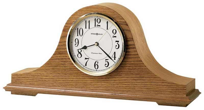 Howard Miller Nicholas 635 100 Mantel Clock The Clock Depot