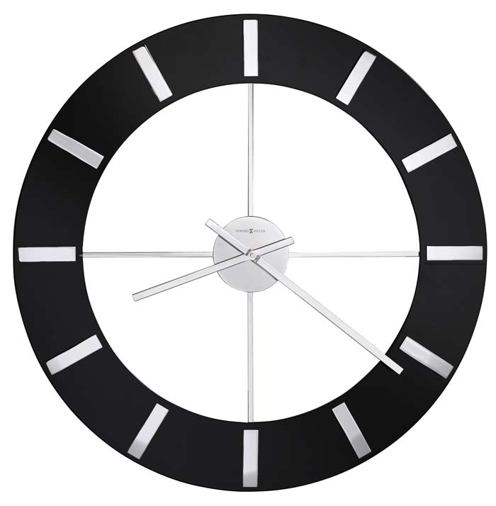 Large Black Wall Clock large wall clocks over 25 inches in diameter - the clock depot