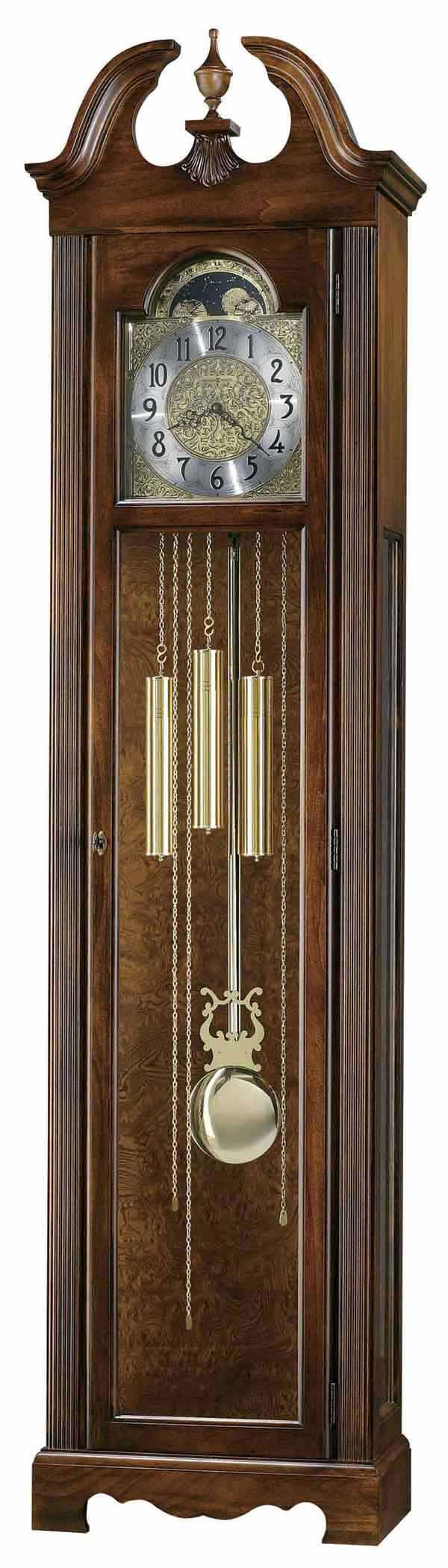 howard miller grandfather clock serial number lookup