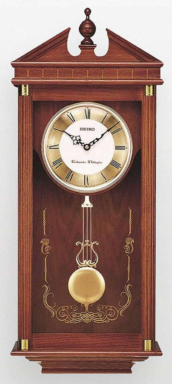 Seiko qxh107blh chiming traditional wall clock for Seiko chiming wall clock