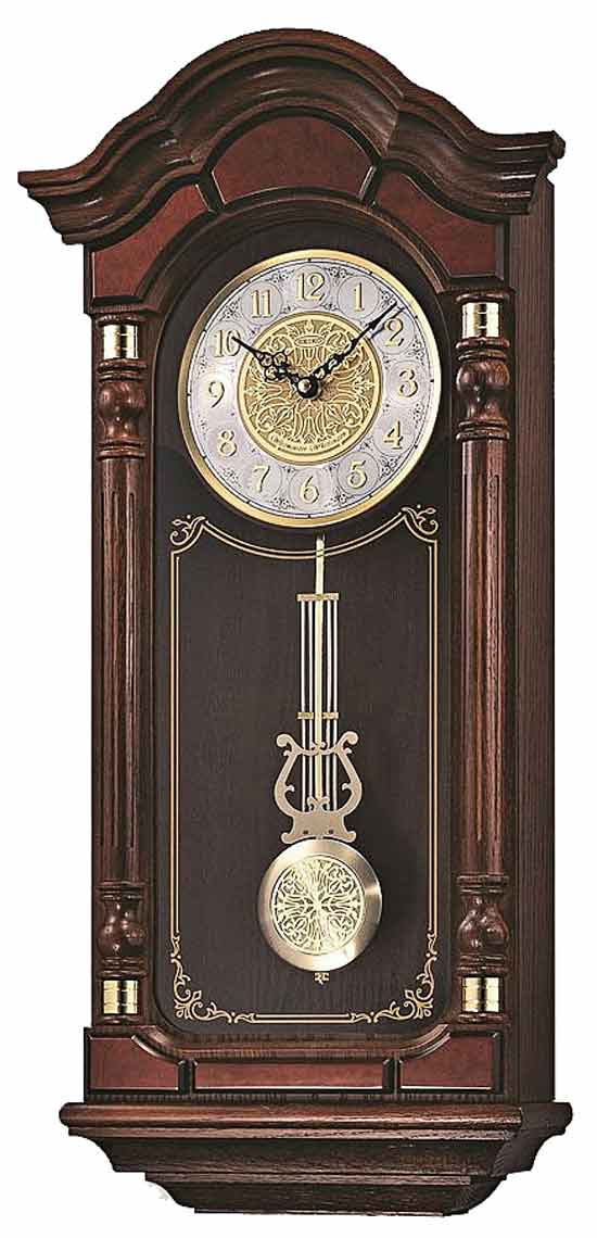 Seiko Qxh004blh Chiming Wall Clock The Clock Depot