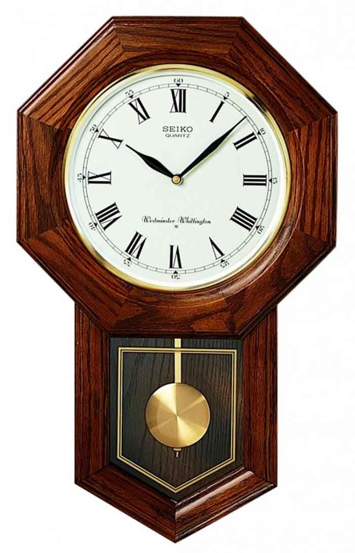 Seiko Qxh102bc Schoolhouse Wall Clock The Clock Depot