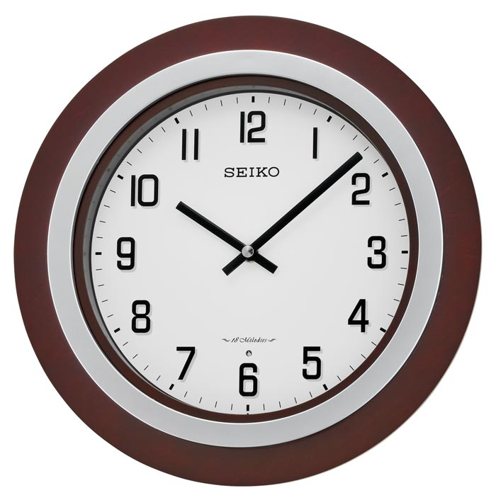 Seiko QXM547BLH Easton Musical Wall Clock The Clock Depot