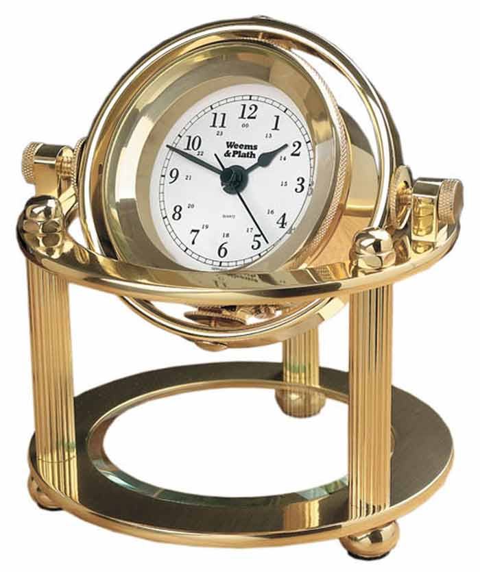 Weems And Plath Solaris Desk Clock 790500
