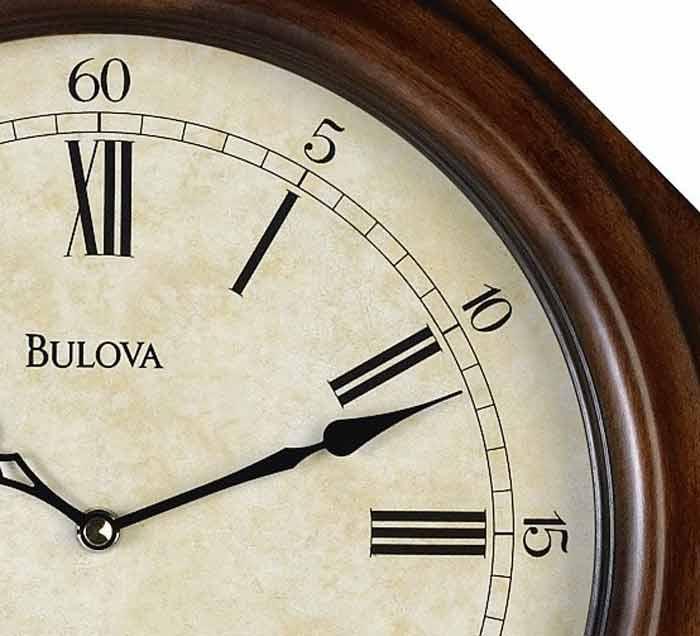 Bulova C3543 Ashford Ii Regulator Chiming Wall Clock Gtb6522