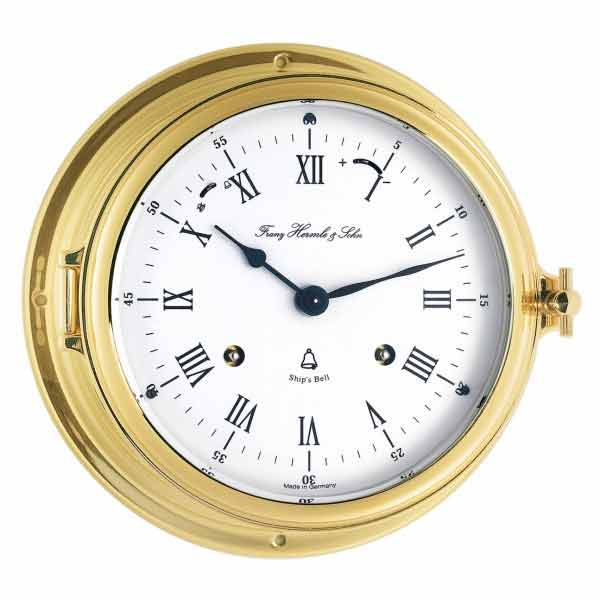 Hermle 35065 000132 Keywound Ships Bell Clock The Clock