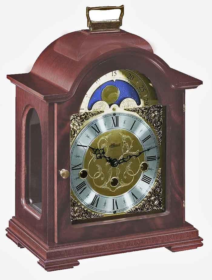 Hermle Debden 22864 070340 Keywound Moon Phase Mantel Clock