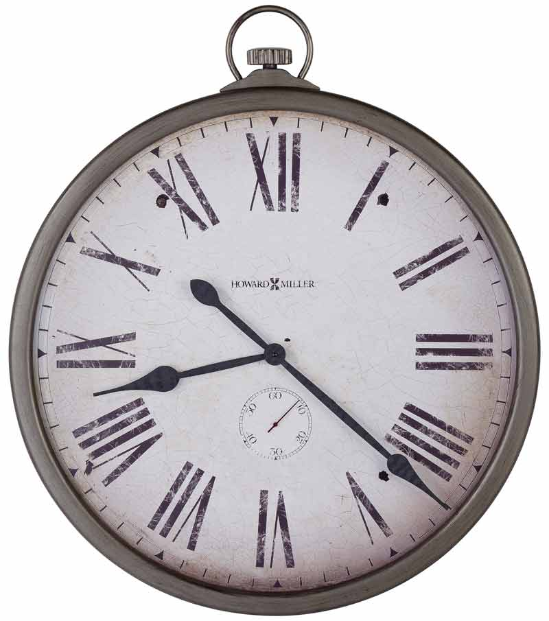 howard miller gallery pocket watch large wall clock