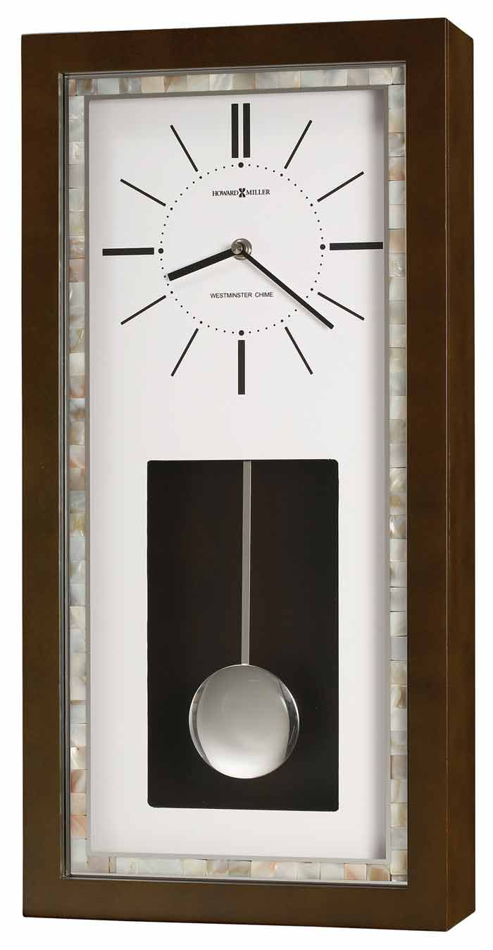 Quartz wooden chiming wall clocks the clock depot howard miller holden 625 594 chiming wall clock amipublicfo Choice Image