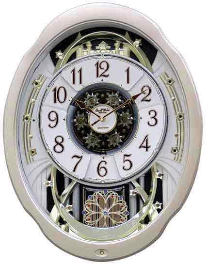 Rhythm 4MH842WD18 Marvelous Small World Clock