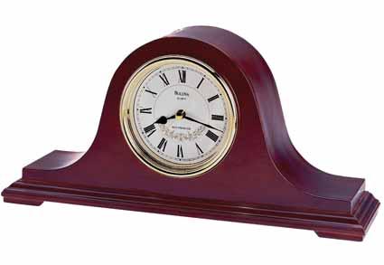 Bulova B1929 Annette Chiming Mantel Clock