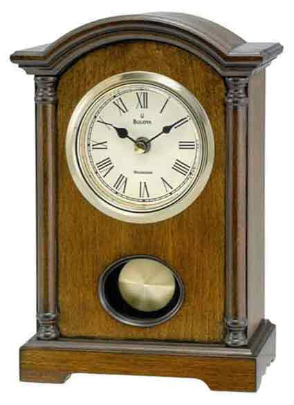 Bulova B7466 Dalton Chiming Table Clock
