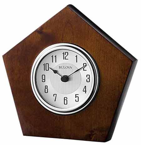 Bulova B1701 Orion Desk Clock