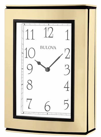 Bulova B1709 Memories Photo Album Clock