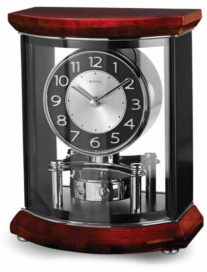 Bulova B1718 Gentry Contemporary Mantel Clock