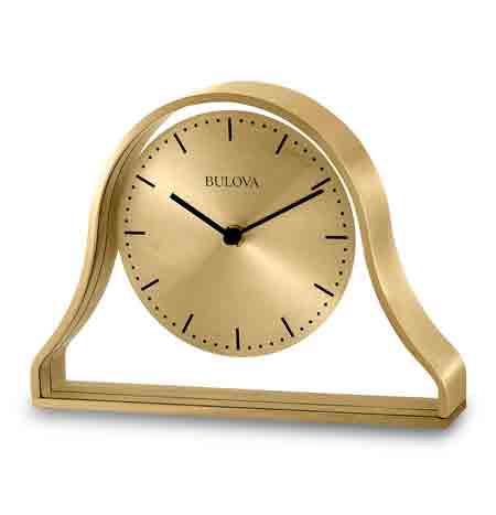 Bulova B1863 Bonita Desk / Mantle Clock