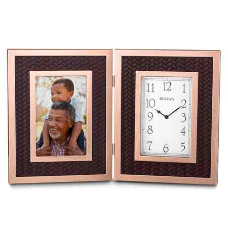 Bulova B1867 Scottsdale Photo Frame Clock