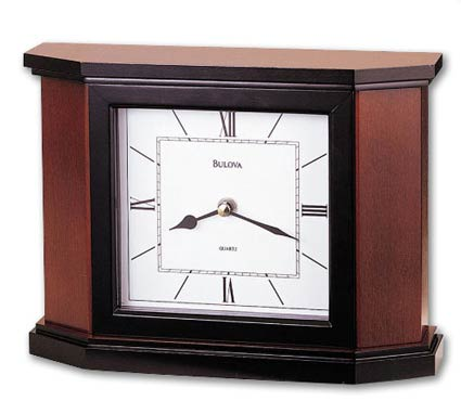 Bulova B1881 Holyoke Non-Chiming Mantel Clock