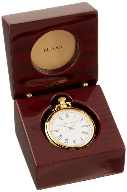 Bulova B2662 Ashton Table Clock / Desk Clock