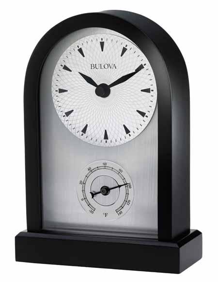 Bulova B5007 Madison  Contemporary Desk Clock