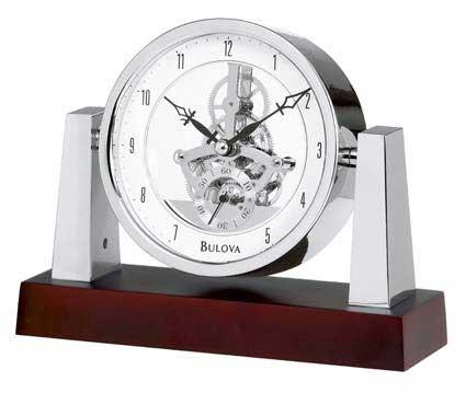 Bulova B7520 Largo Desktop Clock