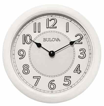 Bulova C4842 Versatile Illuminated Wall Clock