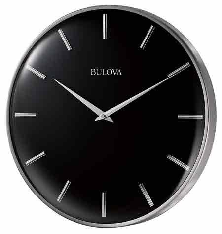 Bulova C4849 Metro Wall Clock