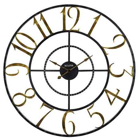 Bulova C4857 Colossus Wall Clock